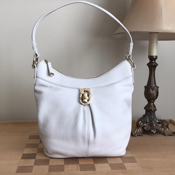 f95ae4ca99 Calvin Klein Handbags - Calvin Klein Modena Hobo Leather Bag